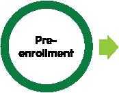 Pre-enrollment icon